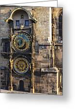 Old Town Hall Clock Greeting Card
