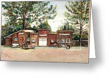 Old Town Wolford Heights Greeting Card