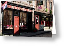 Old Towne Dining Greeting Card