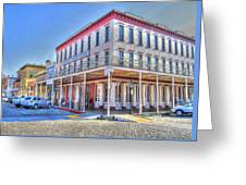 Old Towne Sacramento Greeting Card