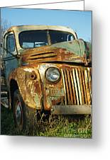 Old Tri-way Truck Greeting Card