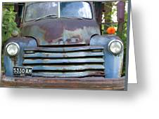 Old Truck I Greeting Card