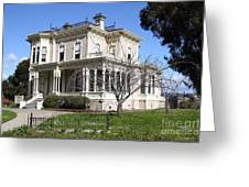 Old Victorian Camron-stanford House . Oakland California . 7d13445 Greeting Card