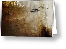 Old Walls Divide Greeting Card