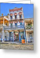 Old West Architecture Greeting Card