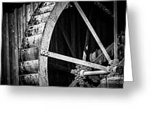 Old West Water Mill 2 Greeting Card by Darcy Michaelchuk