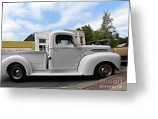 Old White Ford Greeting Card