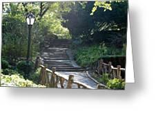 Oldbridge Steps Greeting Card