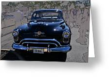 Olds 50 Greeting Card