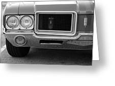Olds C S In Black And White Greeting Card