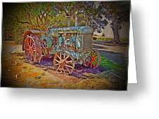 Oliver Tractor 2 Greeting Card