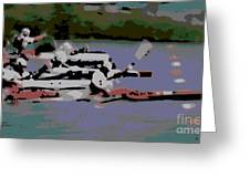 Olympic Lightweight Double Sculls Greeting Card