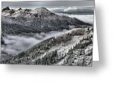 Olympic Ridge Greeting Card