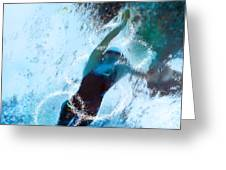 Olympics Swimming 02 Greeting Card