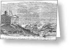 Omaha, Nebraska, 1869 Greeting Card