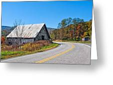On A Roll In West Virginia 2 Greeting Card