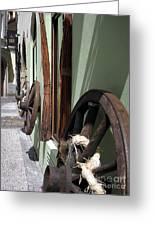 On Old Street Praha Greeting Card