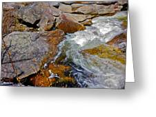 On Screw Auger Falls 6 Greeting Card