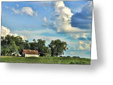 On Stage Coach Road Greeting Card