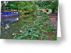 On The Canal Greeting Card