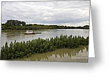 On The Danube Greeting Card