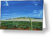 On The Road To Cimarron Greeting Card