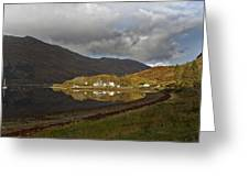 On The Shore Of Loch Duich Greeting Card