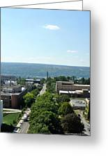 On The Top Of Cornell Greeting Card