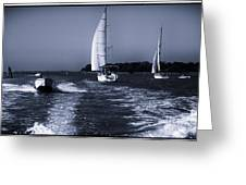 On The Water 1 - Venice Greeting Card