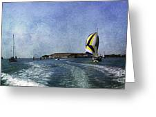 On The Water 2 - Venice Greeting Card