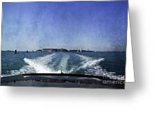On The Water 5 - Venice Greeting Card