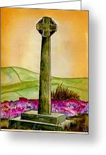 On The Yorkshire Moors Greeting Card