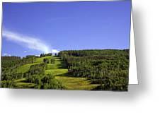 On Vail Mountain II Greeting Card
