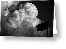 One Giant Cloud For Moon Kind Greeting Card
