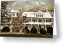 One Hundred Year Old Mountain Inn Greeting Card