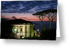 One Night In Sorrento Greeting Card