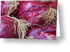 Onion Skins Greeting Card