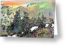 Opal Morning Greeting Card