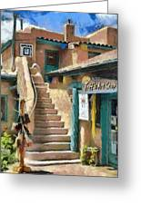 Open For Business Greeting Card by Jeff Kolker