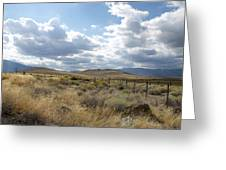 Open Land Greeting Card