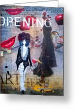 Opening Night Greeting Card