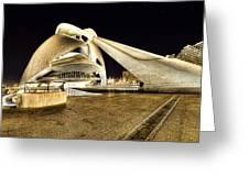 Opera Valencia Greeting Card by Gabriel Calahorra