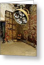 Operating Room - Eastern State Penitentiary Greeting Card
