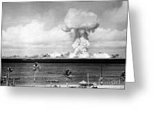 Operation Crossroads, Able Detonation Greeting Card