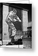 Operation Motorman Mural Derry Greeting Card