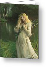 Ophelia Greeting Card