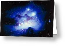 Optical Image Of The Nebula Ngc 1977 In Orion Greeting Card