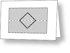 Orbison Illusion Greeting Card