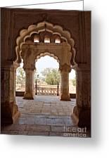 Orchha's Palace India Greeting Card