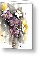 Orchid 13 Elena Yakubovich Greeting Card